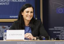 Elisabeth Köstinger ist stellvertretendes Ausschussmitglied.