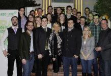 Auf gute Zusammenarbeit: Im Restaurant Bürgerhof in Wien Währing stellte sich das Team der Akademikergruppe Bodenkultur für die kommenden zwei Jahre neu auf.
