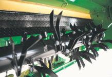 Beim Zinkenaufbereiter ist die Aufbereitungsintensität durch die Rotordrehzahl und den Abstand zwischen Zinken und Reibplatte variierbar.