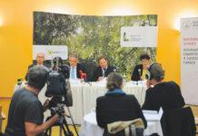 Präsentierten die Waldstrategie 2020: Franz Maier