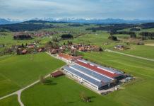Das Pfanzelt-Werksgelände im Allgäu (D)