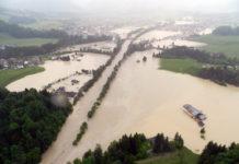 Das Hochwasser in Kössen im Juni 2013 hat gezeigt