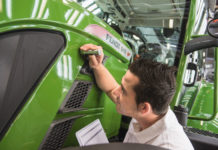 """Neue Fendt-Farbe """"Nature Green"""""""