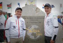 Österreichs Teilnehmer: Philip Bauer (l.) und Josef Kowald