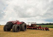 Autonomer Traktor ohne Kabine