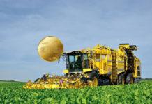 Der neue Ropa Tiger 6 mit bis zu 768 PS gilt als der weltweit leistungsstärkste Zuckerrübenroder.