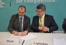 Bei der Unterzeichnung der Grazer-Deklaration: Josef Plank