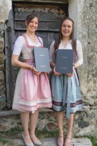Melanie Kraler und Isabella Walder