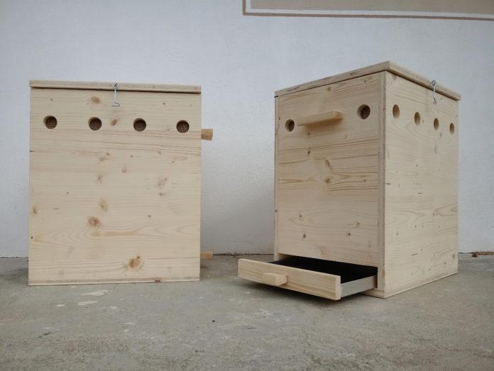 Melanie Kraler und Isabella Walder fertigten für ihre Diplomarbeit zwei Wurmkisten, in denen sie 40 Wochen lang Würmer mit Bioabfall fütterten und so wertvollen Wurmhumus erzeugten.