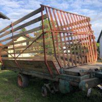 Steyr Hamster Ladewagen